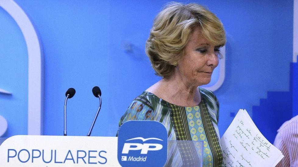 Aguirre sitúa a Carmena «fuera de quienes defienden el orden constitucional».