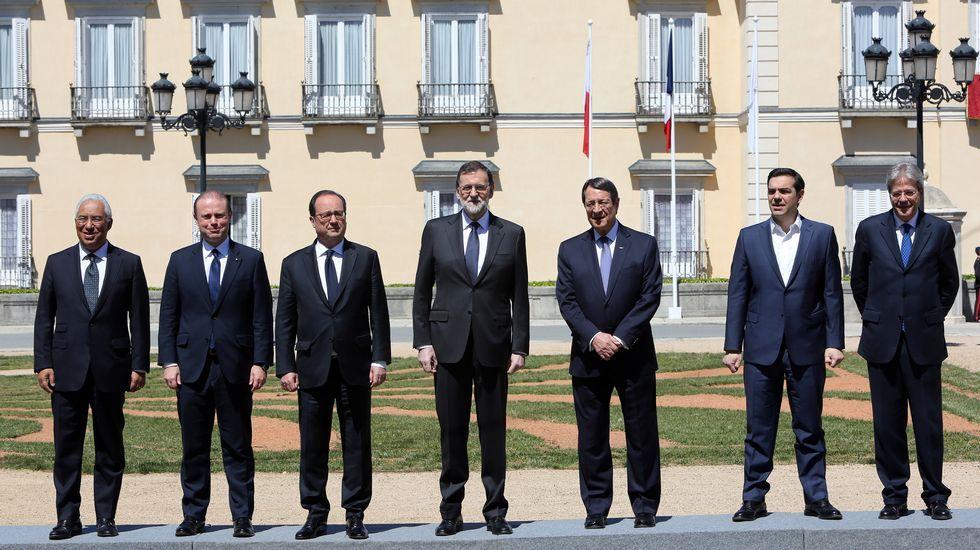 El sur de Europa se reúne en Madrid.Un avión de la aerolínea Volotea