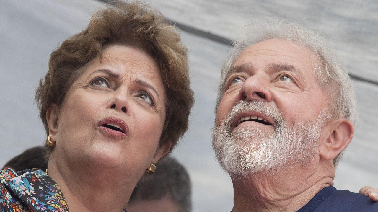 Temer permanecía en una sala especial en la Superintendencia Regional de la Policía Federal de Río de Janeiro