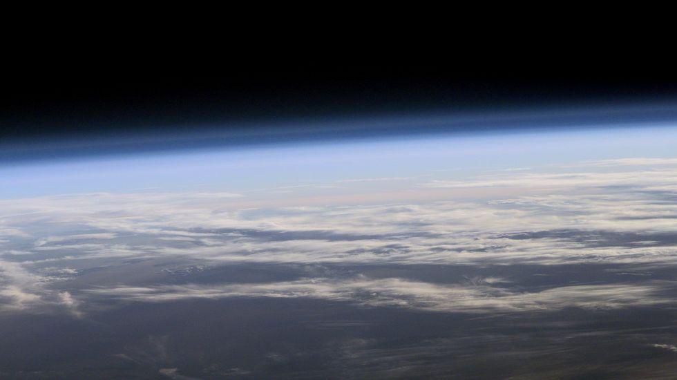 Bardem en la Antártida.Los estudios y mediciones del satélite Aura, de la NASA, constatan que el agujero de ozono de la Antártida se ha reducido