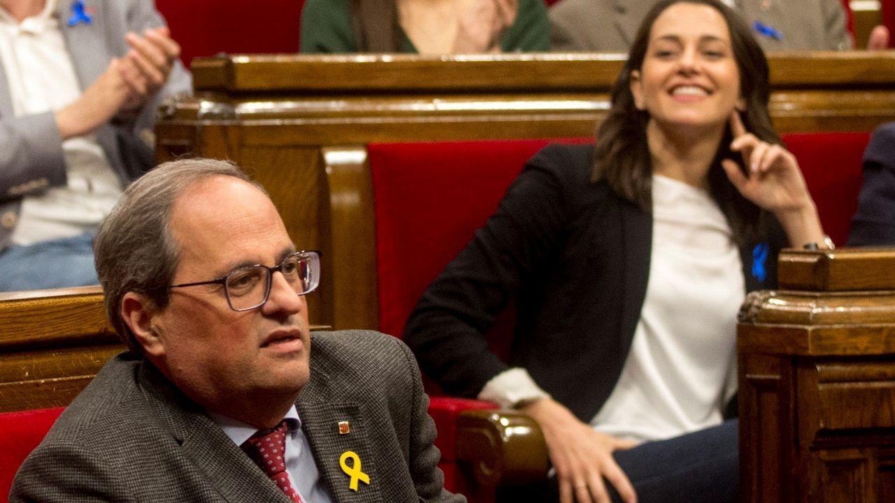 Quim Torra perdió el pasado día 4 una moción que lo emplazaba a convocar una cuestión de confianza o llamar a elecciones