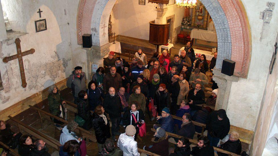 Galicia en alerta por la borrasca Helena.La estación de esquí este domingo