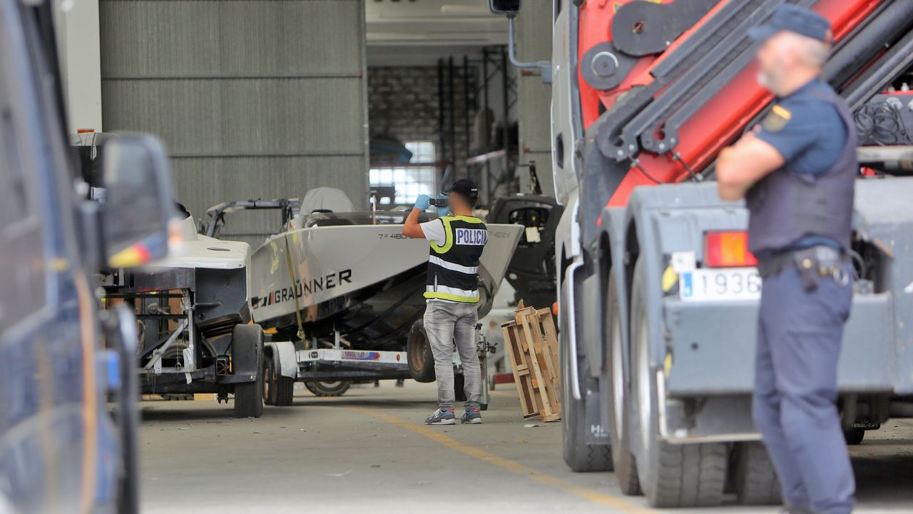 En el astillero Graünneren Tragove se dirigía toda la logística del desembarco de la droga