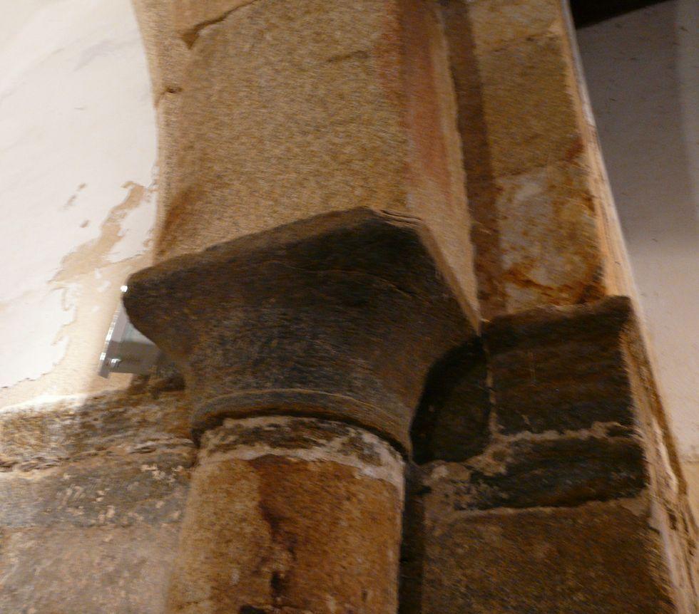 La sal causa graves daños tanto a las pinturas como a la piedra