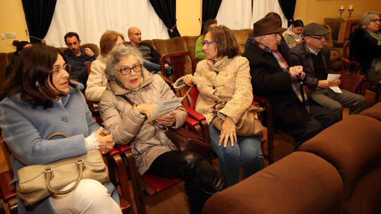 Banquillo con los acusados de la operación Trucarro, en el juicio celebrado a mediados de enero