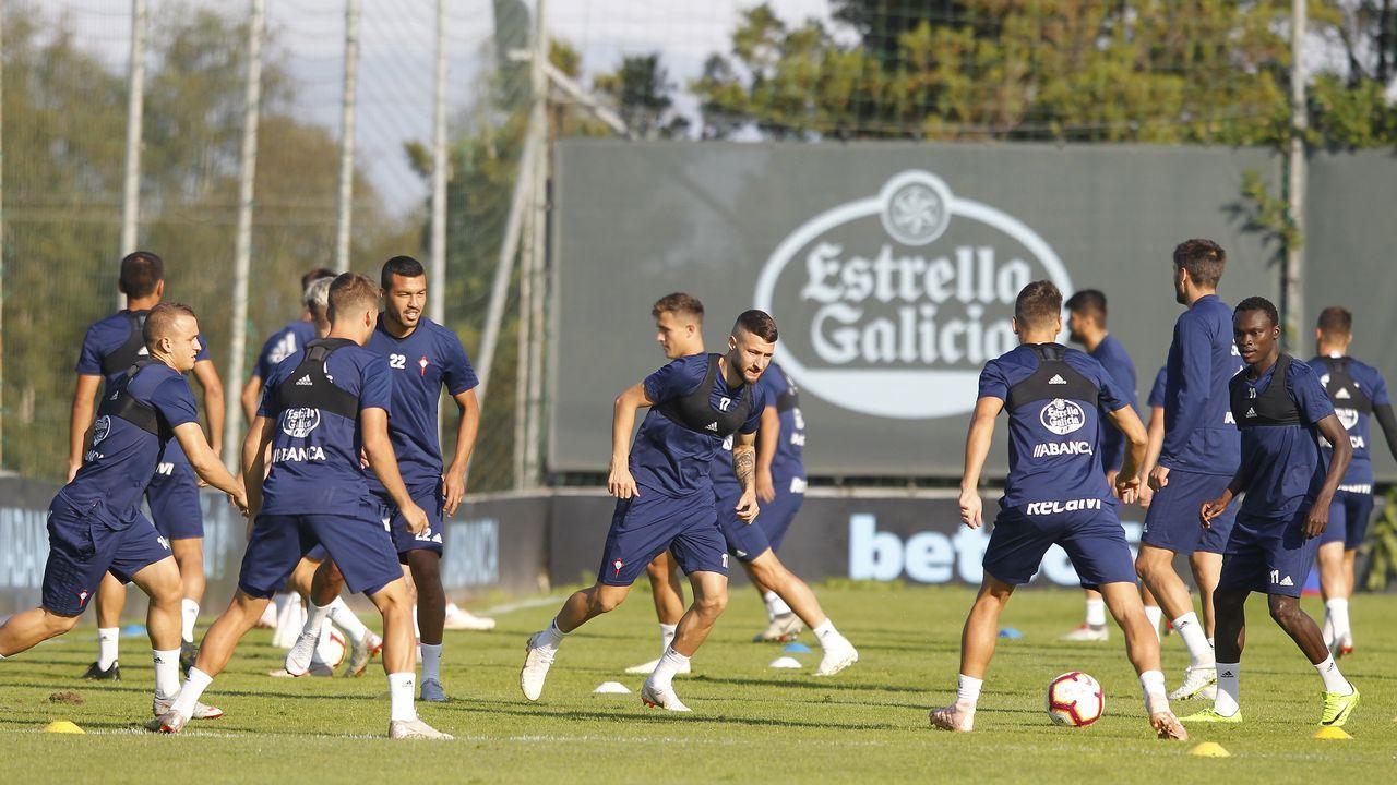 El Sevilla-Celta, en imágenes