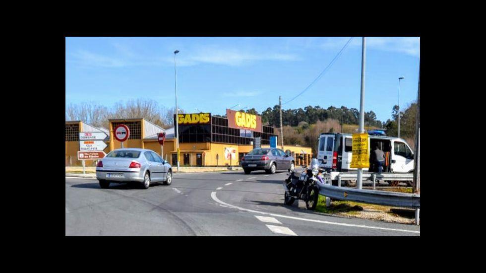El adios motero a Enol Megido.El piloto asturiano Enol Megido