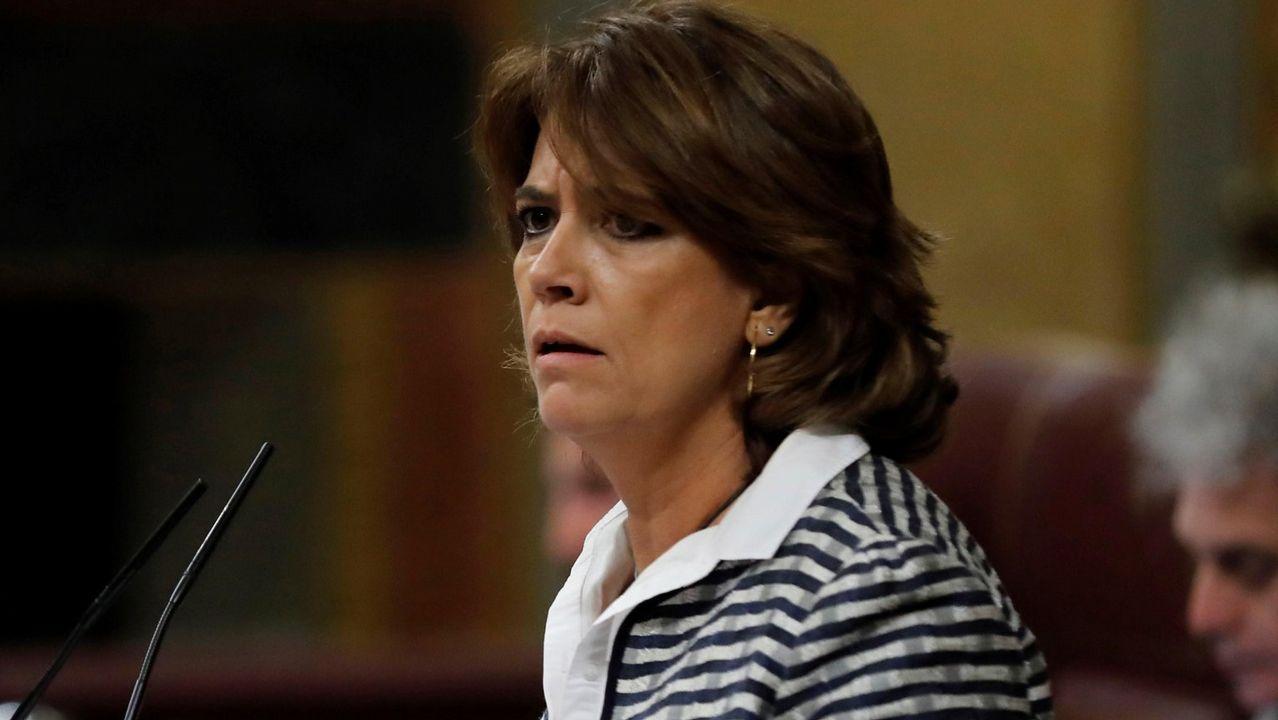 Las grabaciones de un almuerzo en el 2009 desvelan la relación entre Villarejo, Garzón y la ministra Delgado.