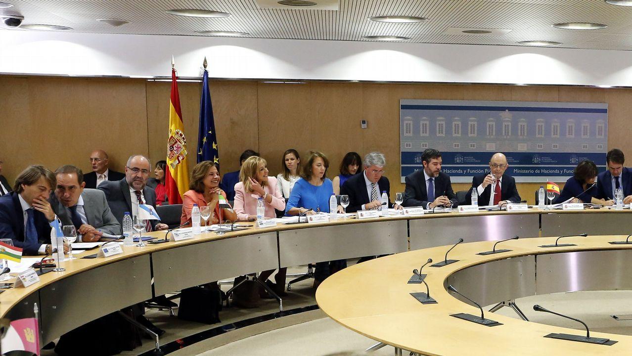 Oficina de empleo.Imagen de archivo de un Consejo de Política Fiscal y Financiera celebrado en Madrid