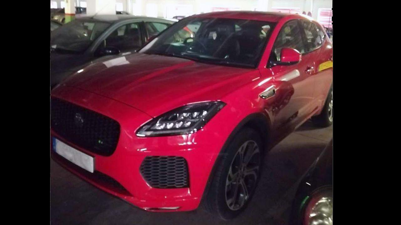 El coche más caro del mundo, en el salón de Ginebra.Jaguar robado en el reino Unido y localizado en Oviedo