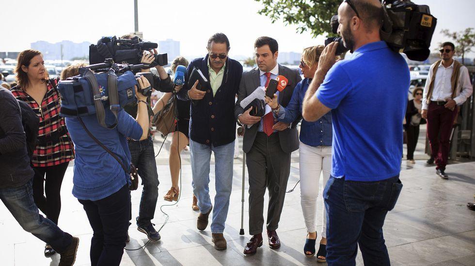 Julián Muñoz durante el juicio del caso Malaya