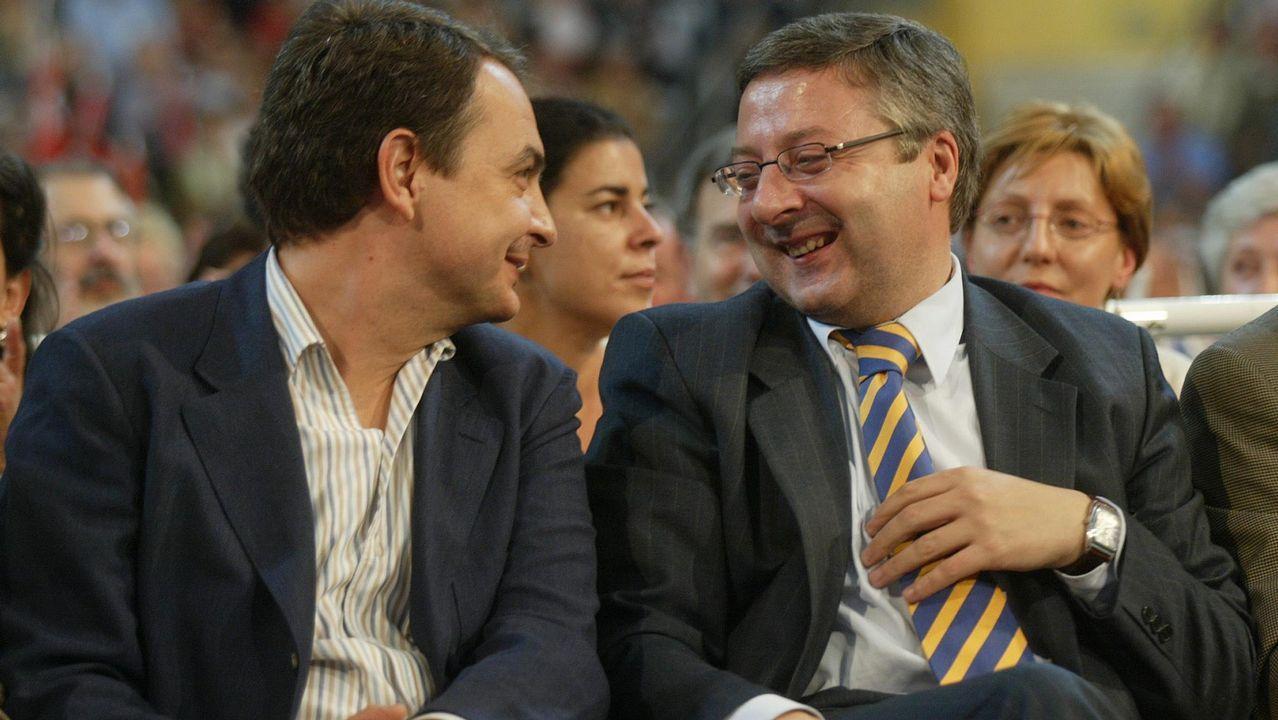 La primavera colorea Galicia.El presidente del Gobierno, Pedro Sánchez, en el mitin de Gijón