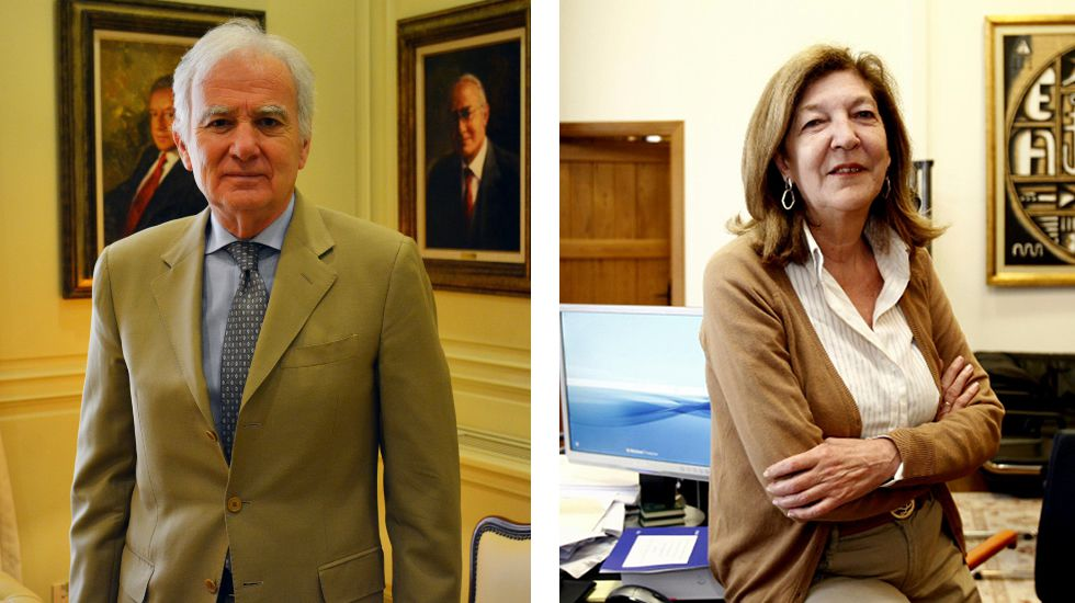 Siera Míguez preside una sala en el Tribunal Supremo. Teresa Conde- Pumpido está en el Tribunal Superior.