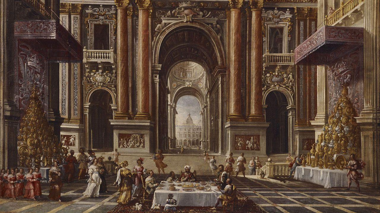 Fragmento de «El banquete de Ester», de Francisco Gutiérrez Cabello