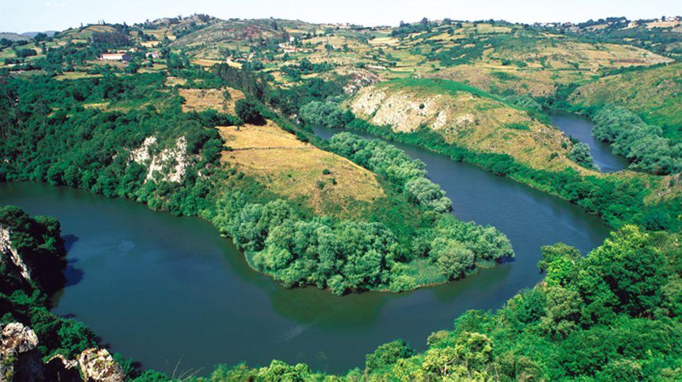 Meandros del río Nora