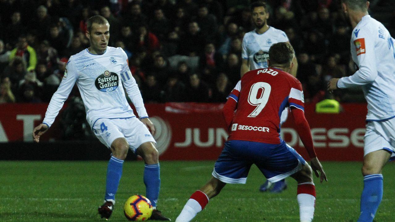 Javi Munoz Real Oviedo Alcorcón Carlos Tartiere.Estadio Carlos Tartiere