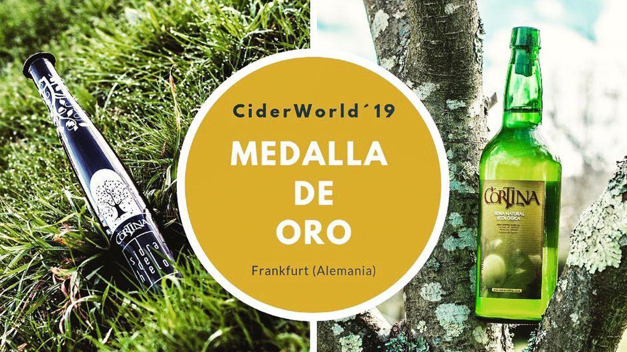 La sidra de hielo Cortina ganadora del certamen CiderWorld?19