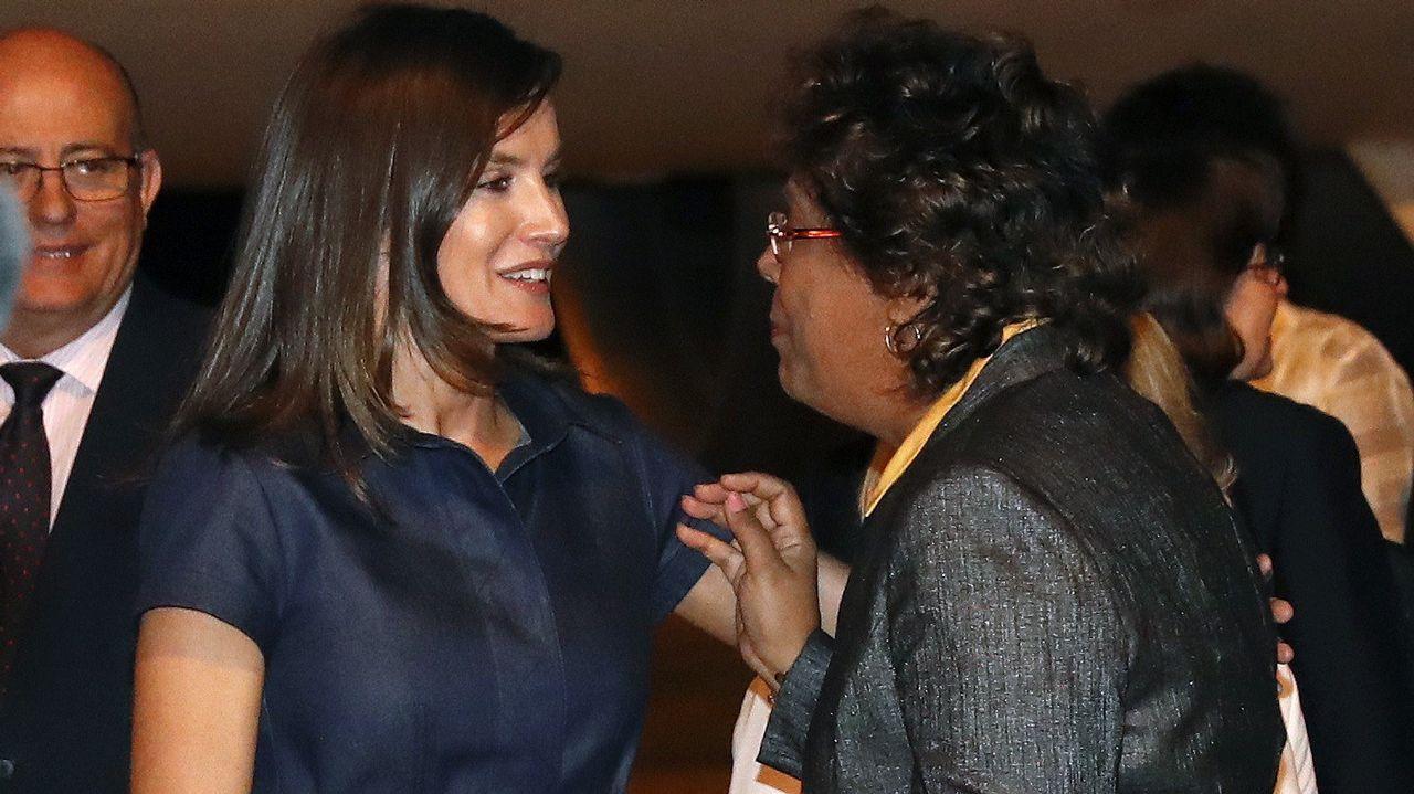 La reina Letizia es recibida por la ministra de Salud de la República de Mozambique, Nazira Vali Abdula