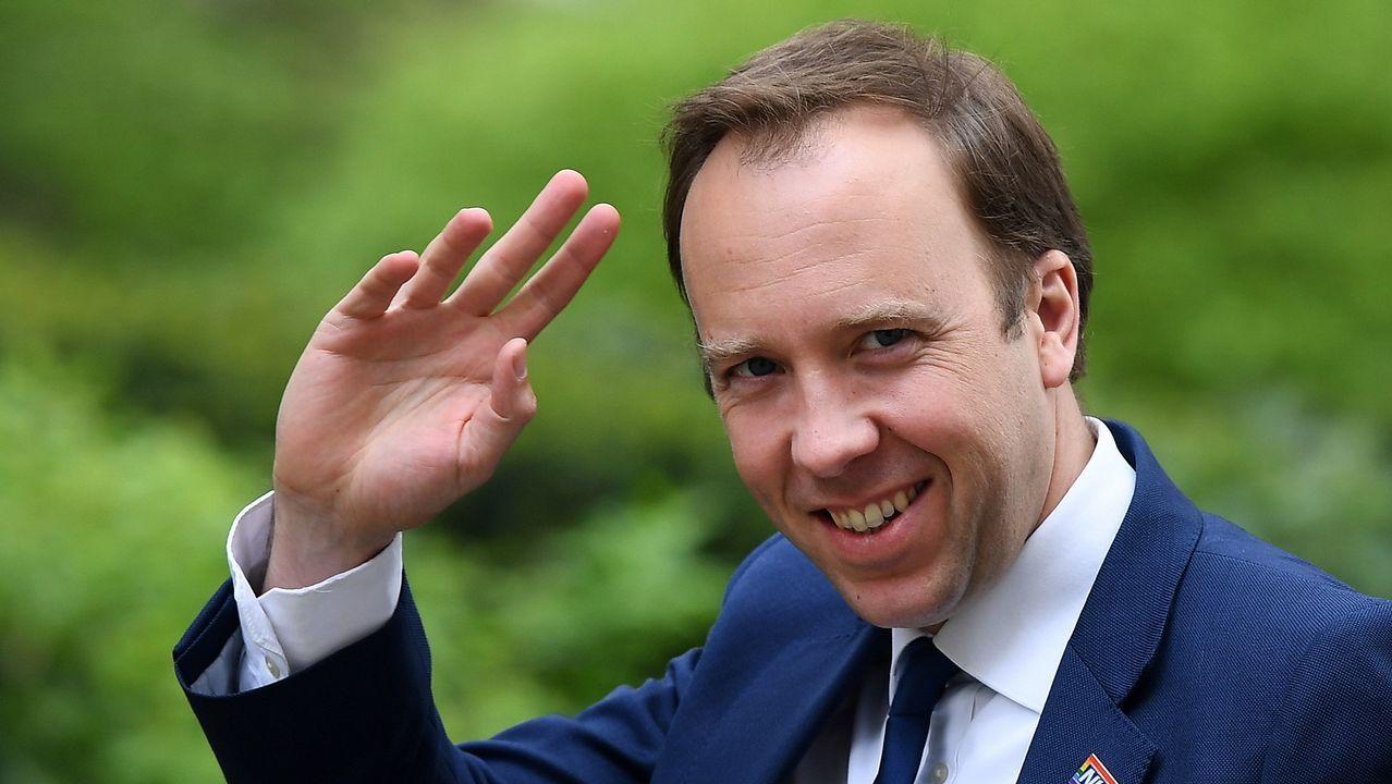 El ministro de Sanidad británico, Matt Hancock, se ha sumado a la competición para suceder a May