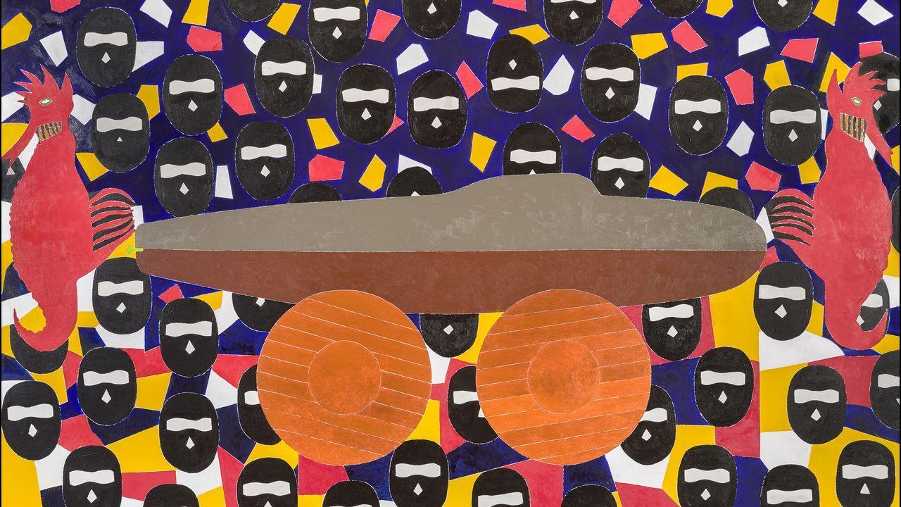 «El buque fantasma» da título a la exposición de Arroyo en Madrid (Eduardo Arroyo. A+V Agencia de Creadores Visuales)