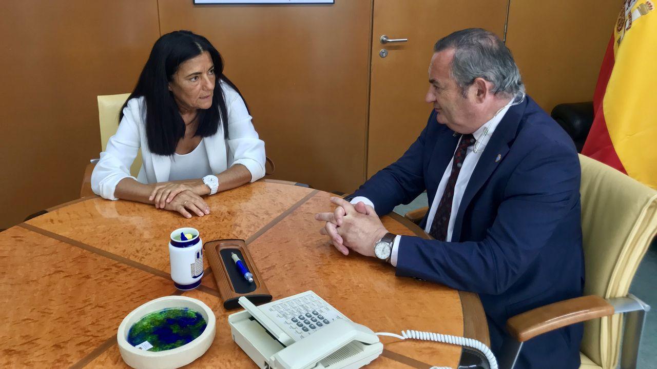 .Balseiro se reunió ayer con la subdelegada del Gobierno