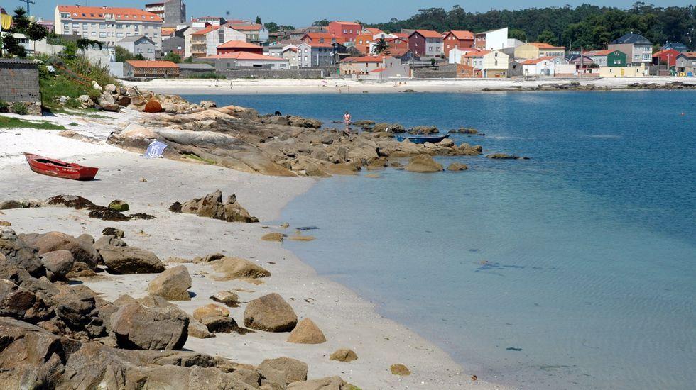 Boiro. Playa de Piñeiron