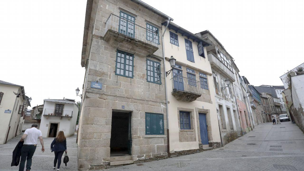 El barrio de A Tinería en Lugo se está rehabilitando a través del plan Rexurbe