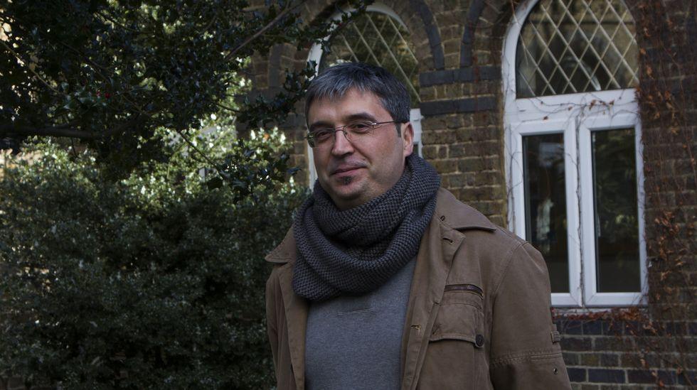 El profesor Xaime Varela.
