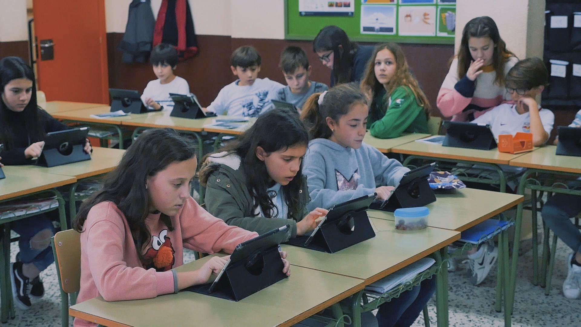 Muchas de las alumnas de este colegio quieren ser ingenieras informáticas