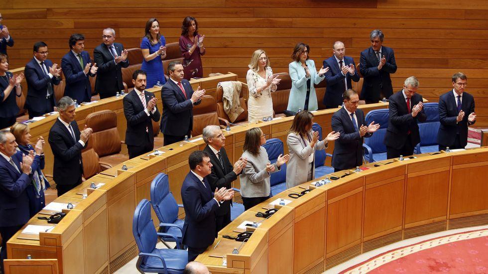 El grupo parlamentario del PP