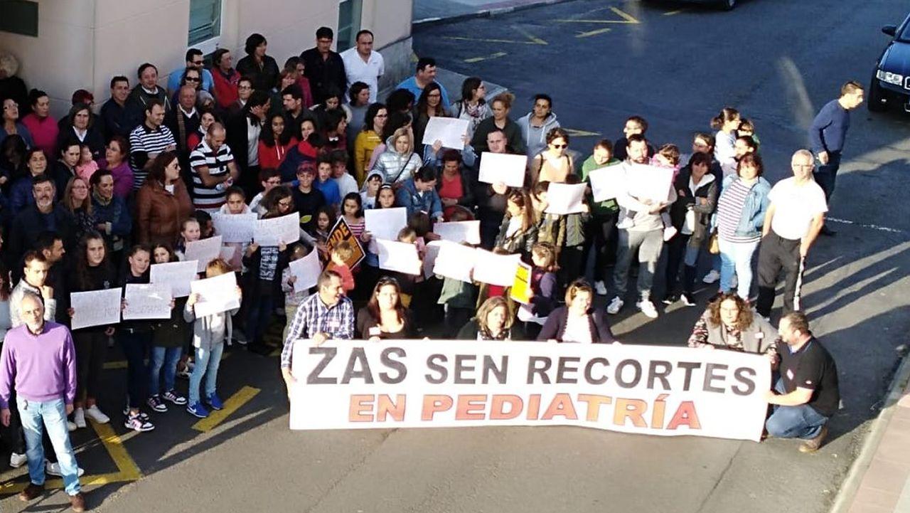 Movilización en verano en Zas