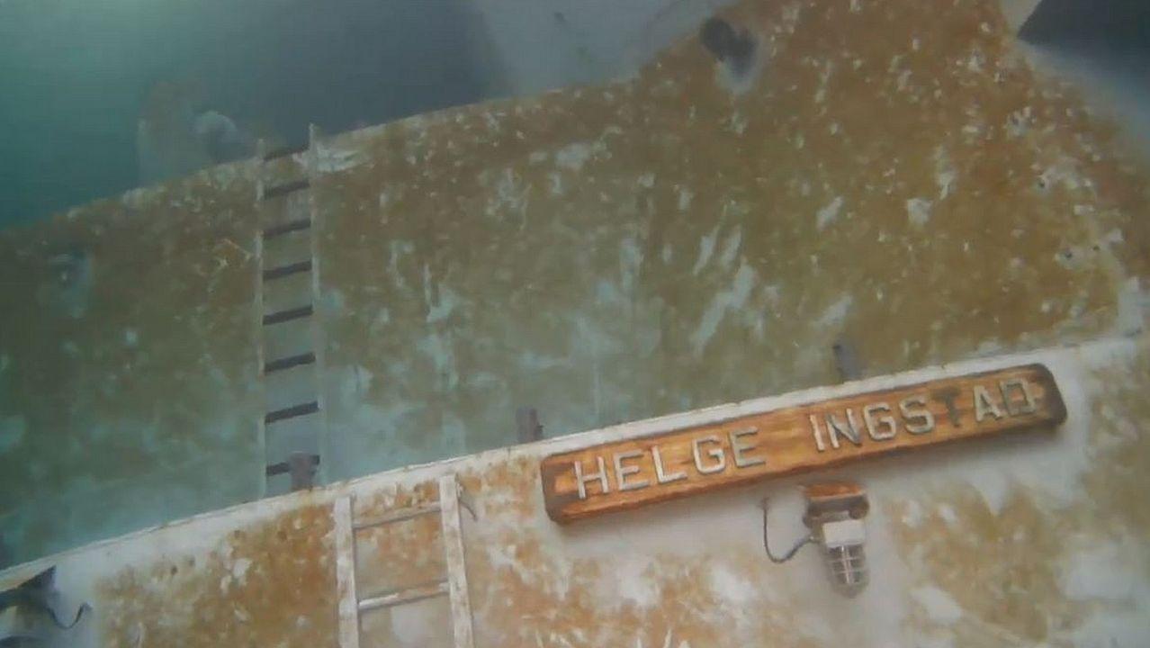 El buque cumple tres meses hundido
