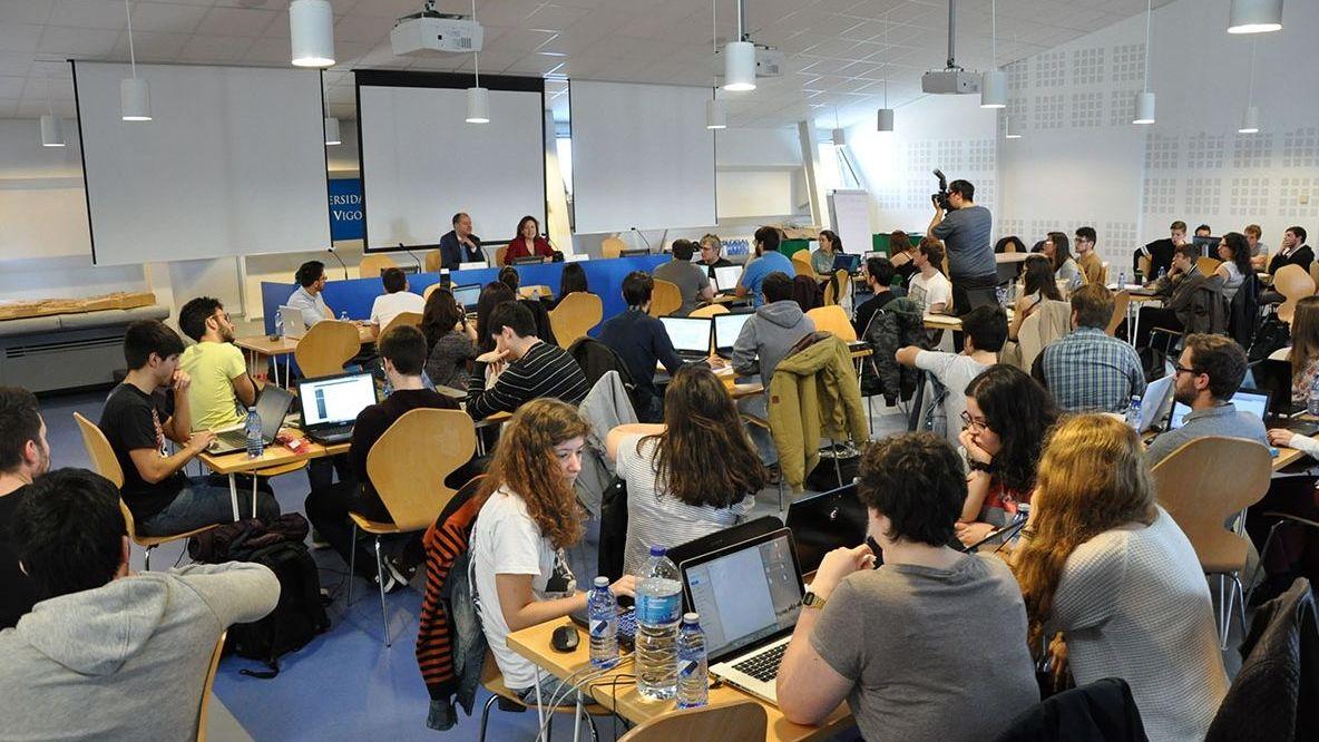 Congreso de hackers de la universidad