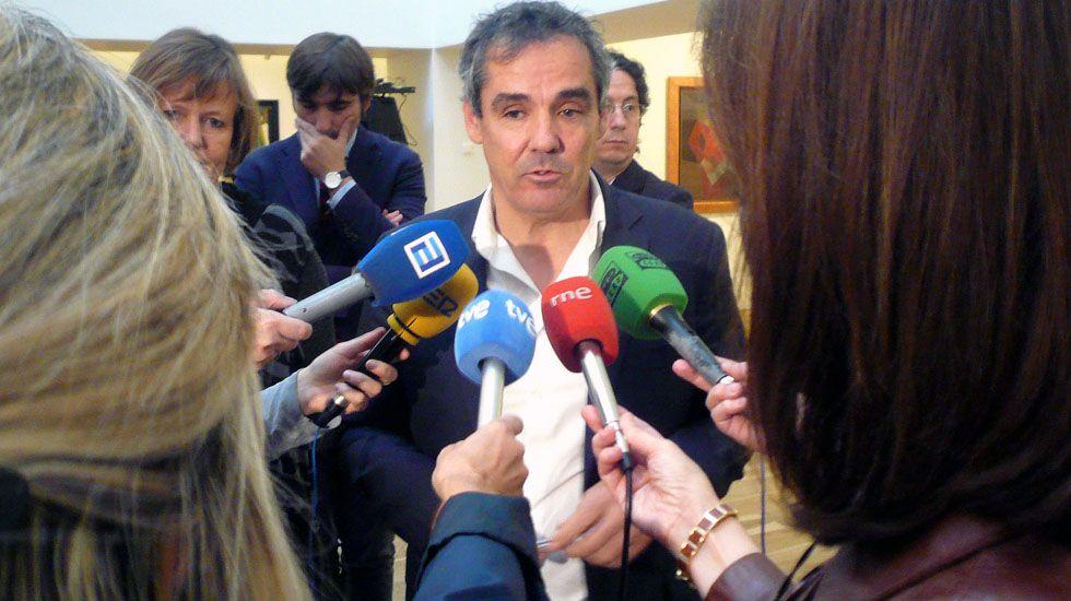 Una mirada al LEV '16 antes de entrar en el LEV' 17.El viceconsejero de Cultura y Deporte del Gobierno de Asturias, Vicente Domínguez