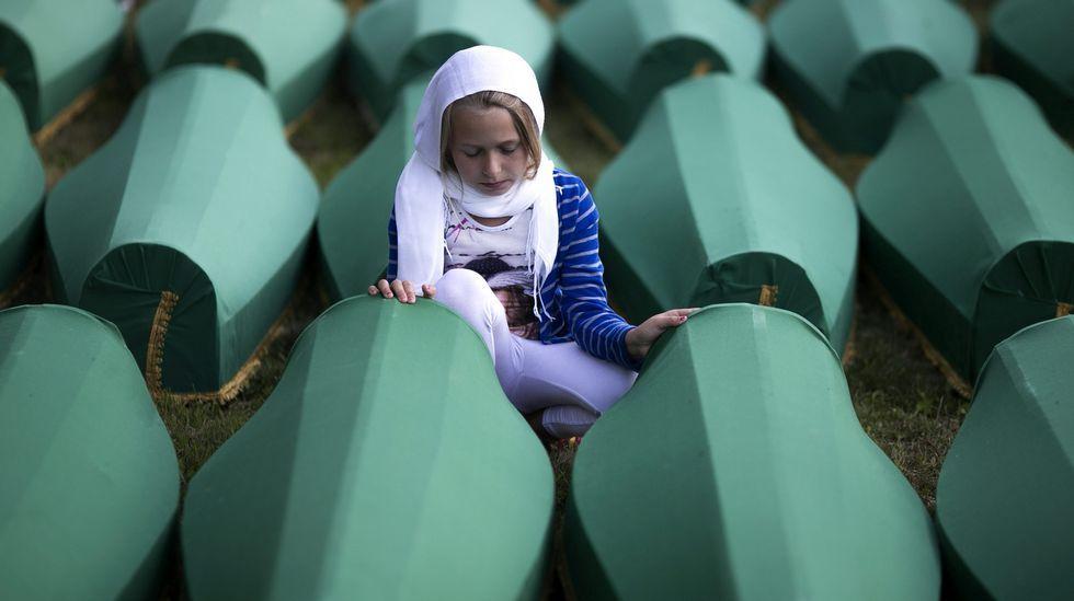 Memorial de la matanza de Srebrenica.