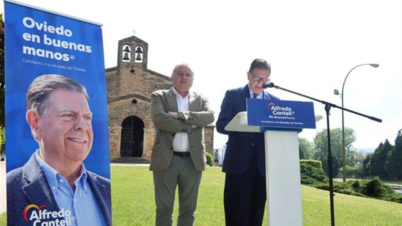 Alfredo Canteli en San Julián de los Prados