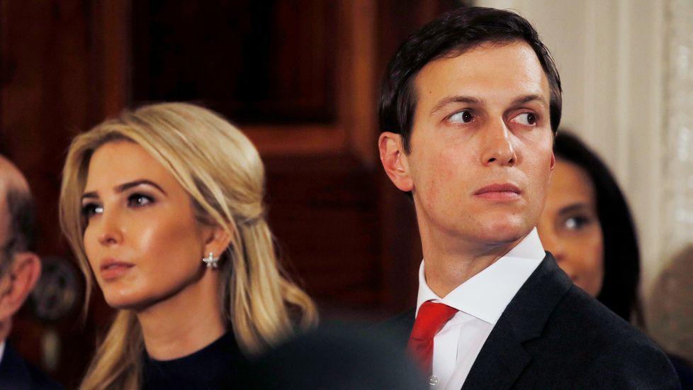 Ivanka Trump y su marido Jared Kushner, muy influyentes en la política de la administración Trump