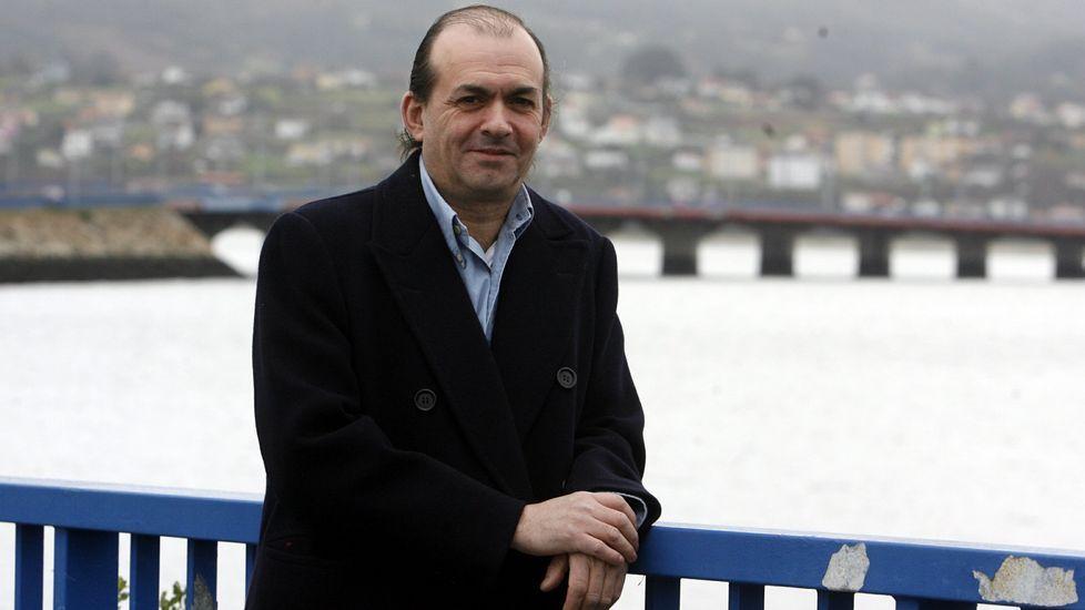 .Manuel Fernández-Castro Cancela, candidato de Vox en Ferrol, en una foto de archivo