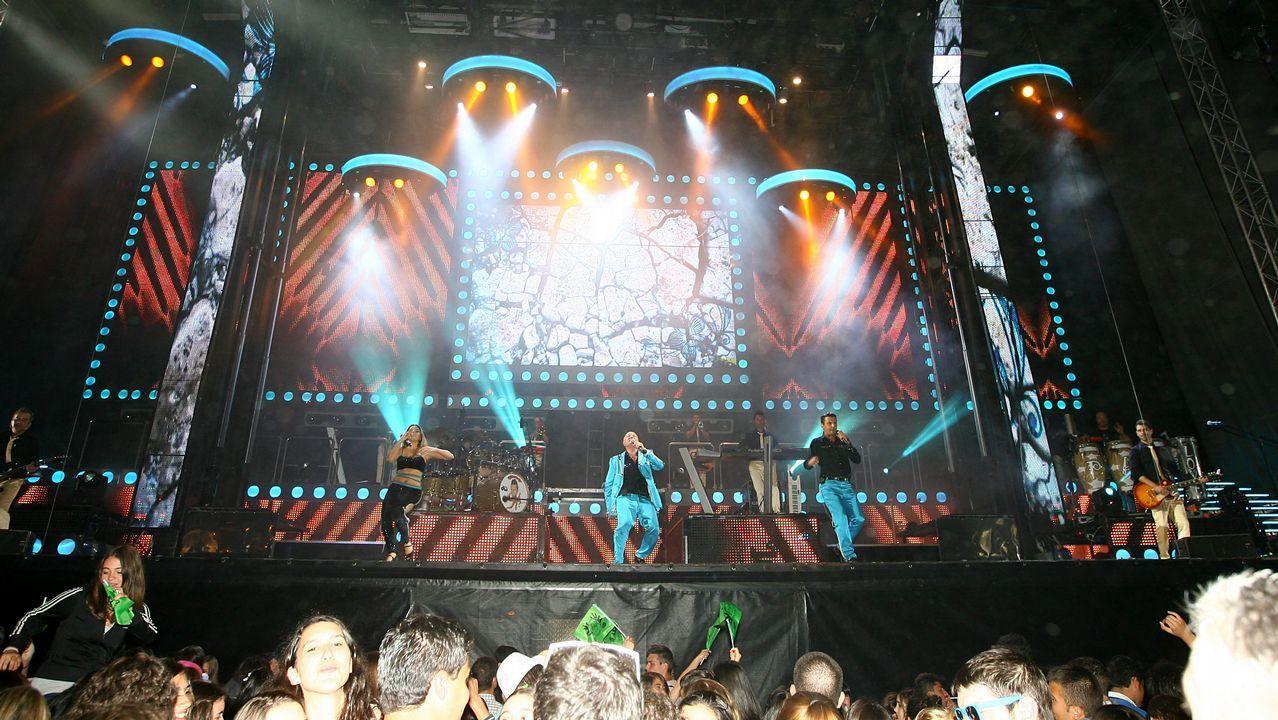 Natalia Méndez es una de las componentes de la Panorama, una orquesta con mucho vestuario