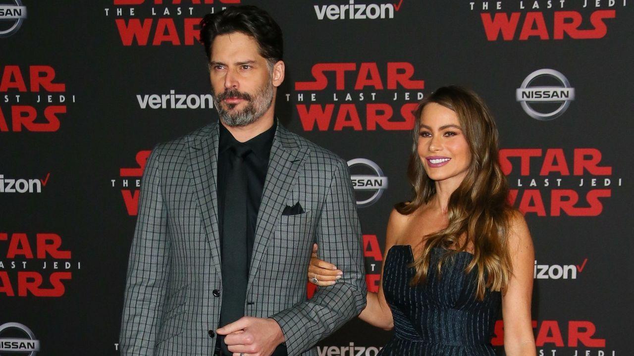 Joe Manganiello y Sofia Vergara estuvieron presentes en el estreno de la película