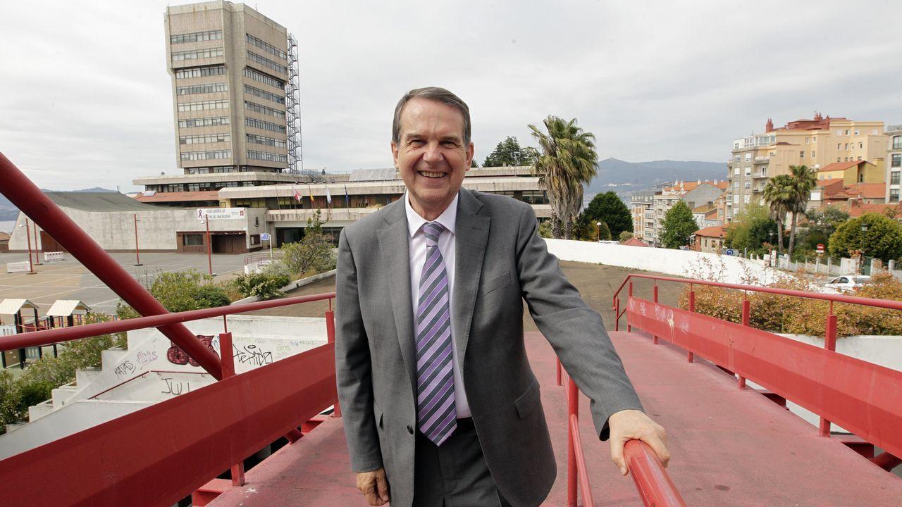 Entrevista a Abel Caballero.Imagen de principios de mayo de un traslado en autobús entre Ourense y Zamora