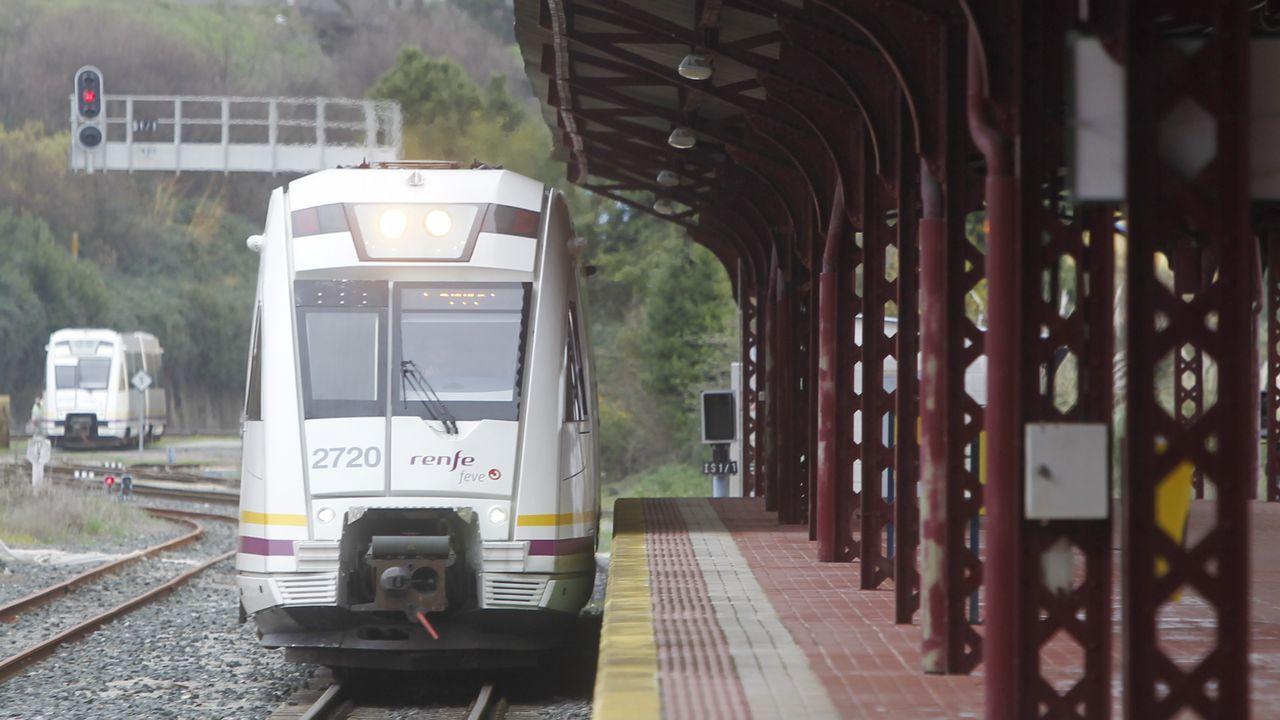 Así es el vídeo con el que Renfe denuncia el coste de las pintadas en sus trenes.Obras en Oviedo