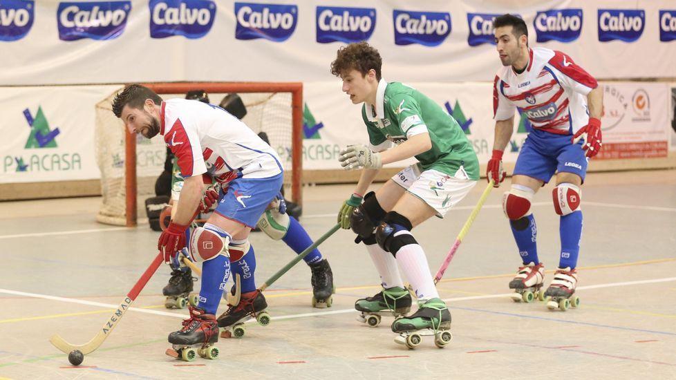 El adiós de Jordi Bargalló, en fotos.María Castelo y María Sanjurjo, «Las Meris», en el trofeo del Sector Norte de hockey.