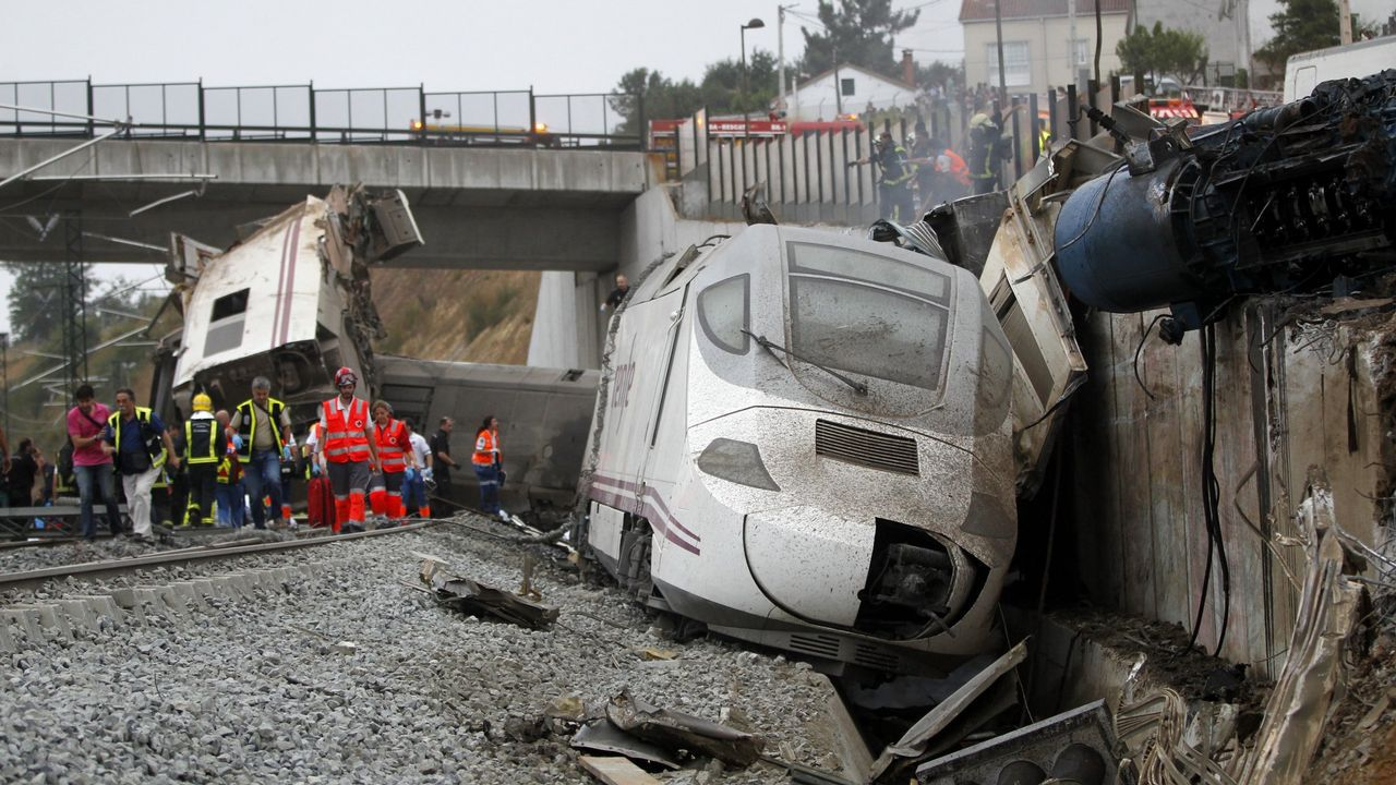 El informe de seguridad no evaluó el riesgo en la curva de Angrois