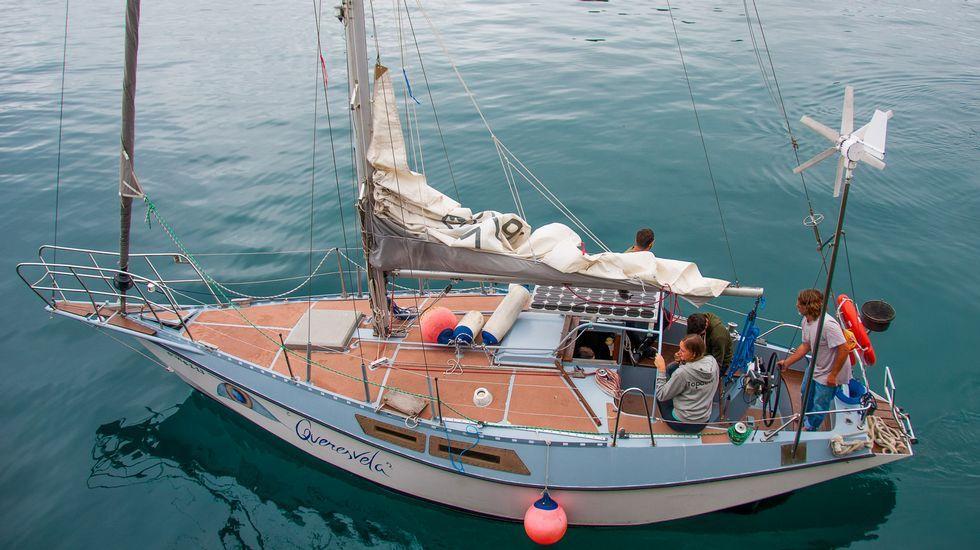 Queresvela ofrece explorar la costa de la ría de Ortigueira desde el mar