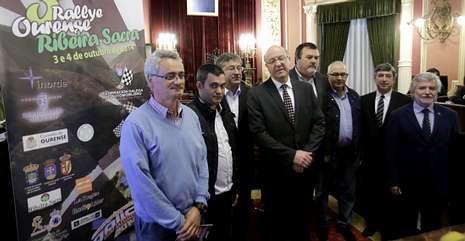 .Los organizadores presentaron la nueva edición de la prueba en el Concello de Ourense.