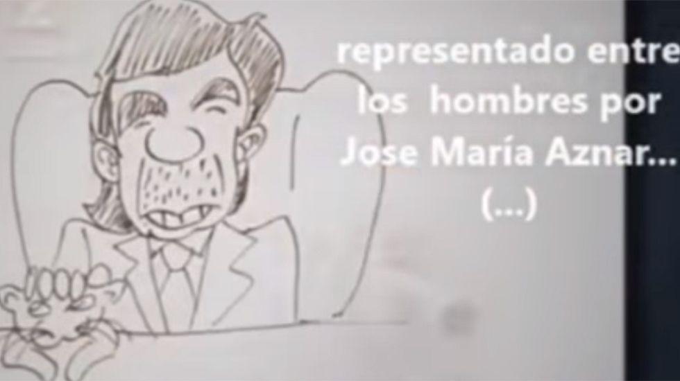 El polémico vídeo de ETB.Alumnos de José Ramón Álvarez Ruiz-Huidobro