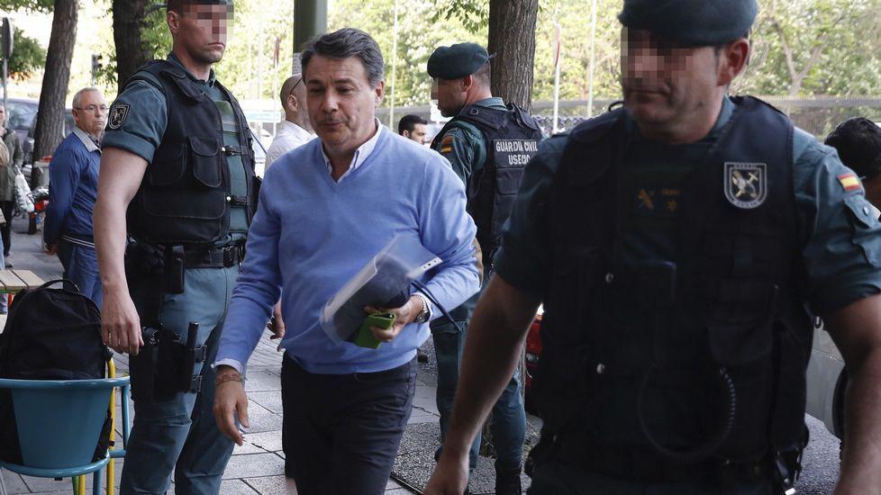 Así funcionaba la presunta trama de Ignacio González para desviar fondos del Canal de Isabel II.Daniel Ripa