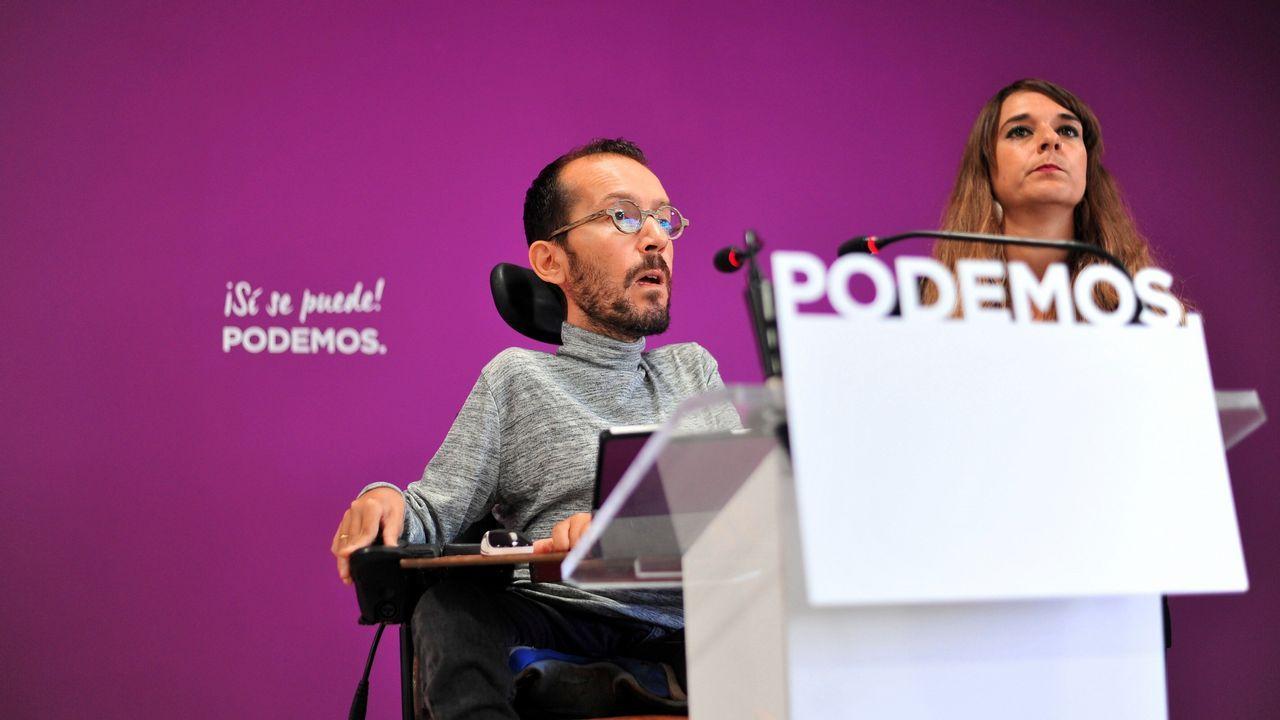 Los puntos clave del pacto presupuestario.Pablo Iglesias e Irene Montero, en una foto de archivo