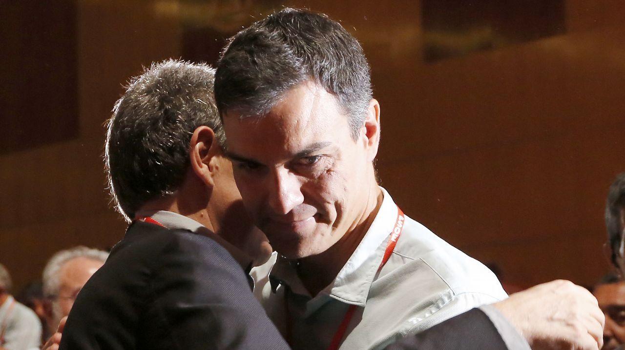 El PSOE exhibe imagen de unidad en su Congreso federal.Delegación de la FSA en el congreso del PSOE